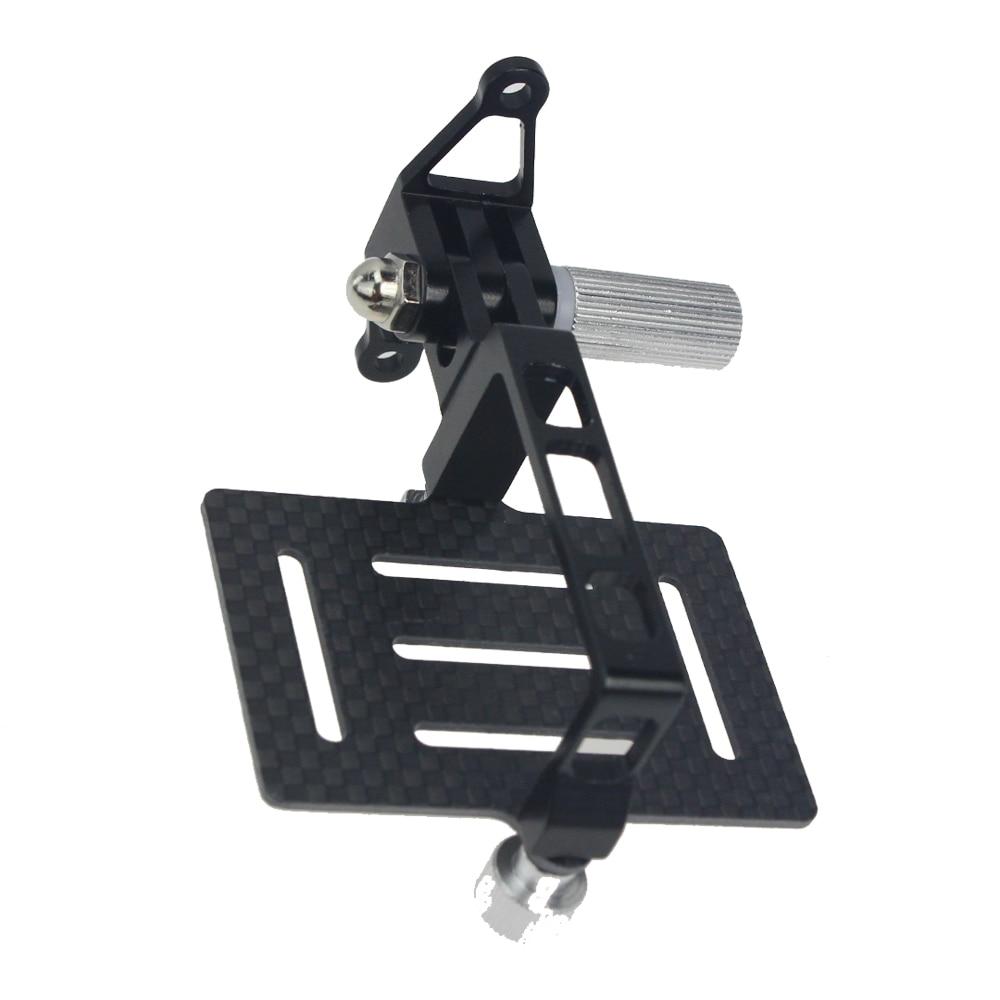 Углеродное волокно Антивибрационная PTZ пластина крепление для экшн-камер Gopro Hero для DJI Phantom 1 2 FPV Дрон карданов подвес для квадрокоптера крепление
