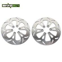 BIKINGBOY-disques de frein avant arrière   VS1400 Intruder GL GLP 87-04 03 02 01 00 99 98 97 95 94 VS 1400 GLP 05 06 07 08, disques Rotors