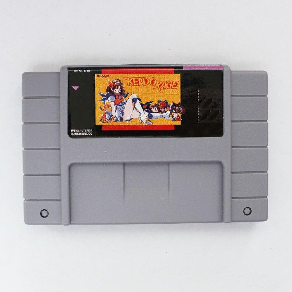 KENDO WUT 16 bit Großen Grauen Spielkarte Für NTSC Spiel Player Drop Shipping