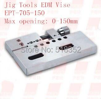 EPT-705-150 الدقة EDM الملازم سريعة لقط ، إفتتاح: 150mmSUS440 الفولاذ المقاوم للصدأ نائب الرقصة أدوات ل EDM سلك آلة قطع