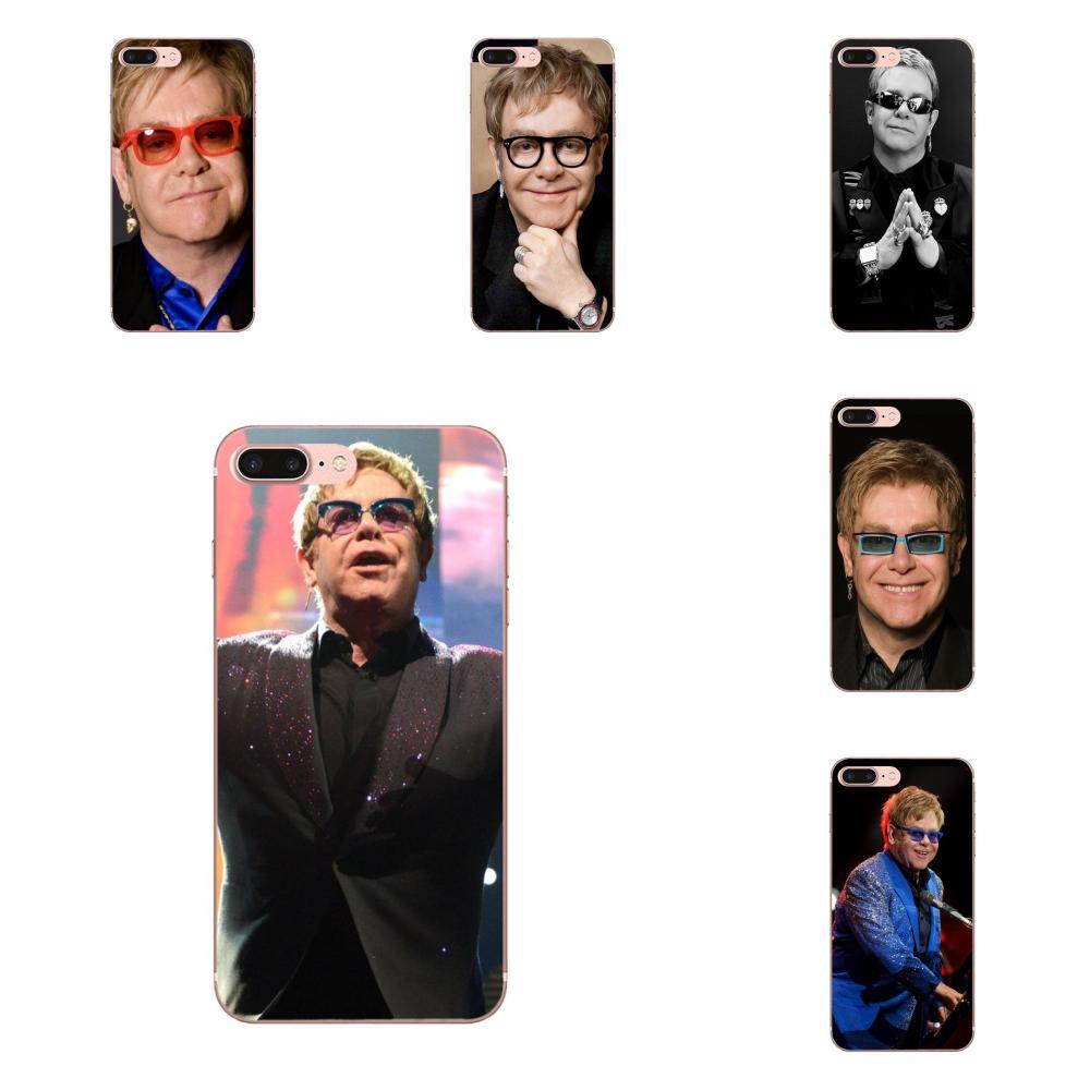 Elton John For Apple iPhone 4 4S 5 5C 5S SE 6 6S 7 8 Plus X XS Max XR Top Detailed Popular Phone Case