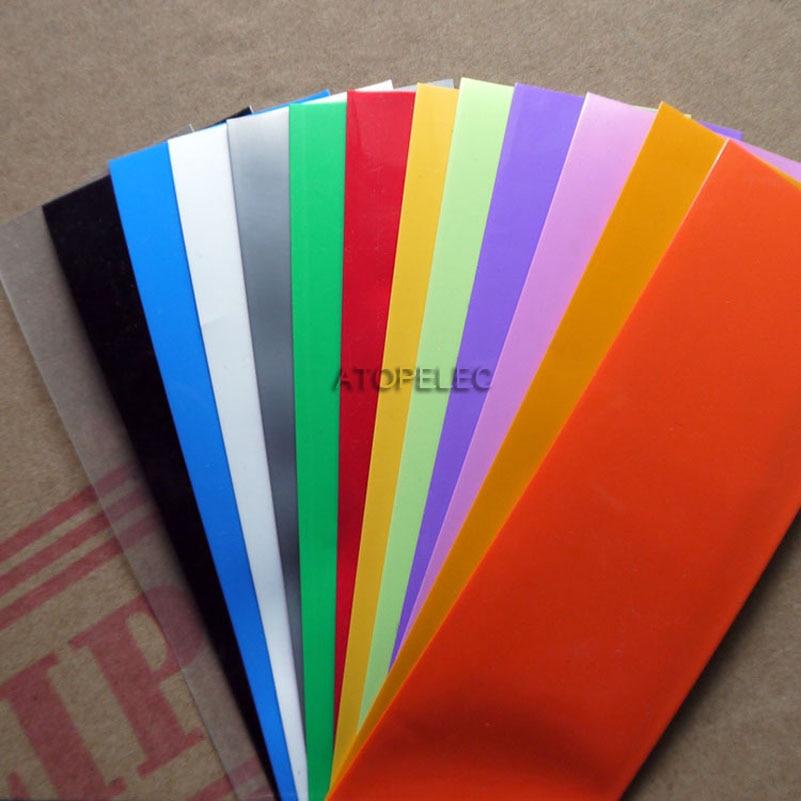 Широкий 43 мм/диаметр 27 мм ПВХ 2:1 термоусадочная трубка прозрачный 26650 аккумулятор обертывание черный/красный/желтый/зеленый/синий/белый/прозрачный