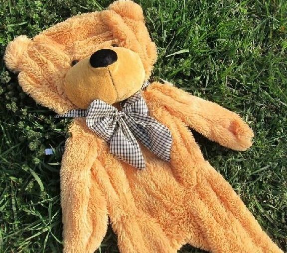 230cm-300cm Large teddies bears big teddy bear skin giant empty Doll coat no filled plush toy baby birthday Christmas gift