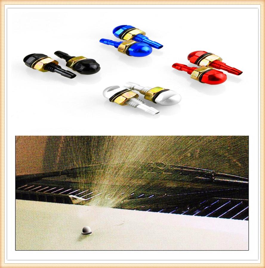 Boquilla de limpiaparabrisas Agua pulverizada para el parabrisas del coche para Ford Shelby SYNus King GTX1 Freestyle Fairlane Equator BA