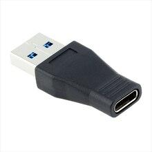 1 Pc ordinateur portable bureau USB 3.0 mâle vers USB 3.1 Type C femelle convertisseur de données bureau USB3.1 type-c vers USB-C Port femelle adaptateur OTG