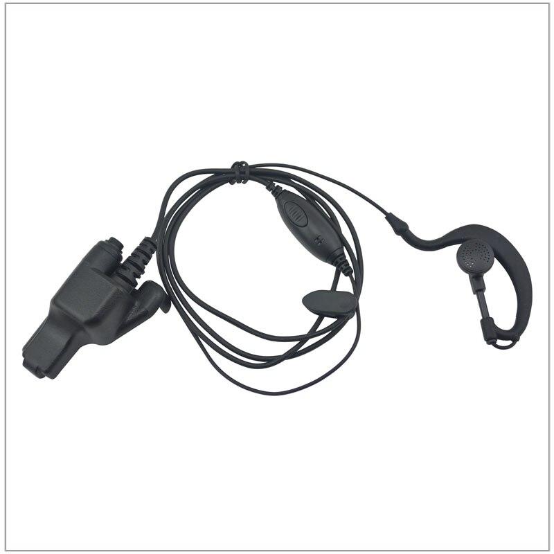 Ушные петли ушные w/PTT для Motorola HT1000, MTS2000, XTS2500, XTS3000, XTS3500, XTS5000, MT2000, JT1000, MTX8000, MTX9000