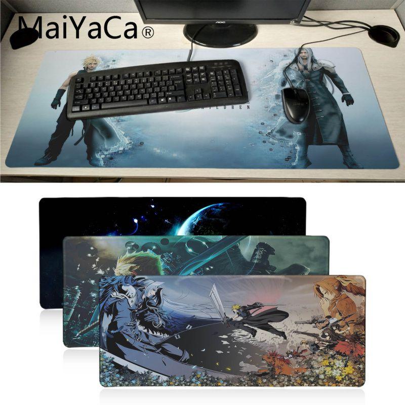 MaiYaCa Regalo De Final Fantasy VII juego de ordenador portátil ratón Gamer Gaming teclado de computadora tableta mouse Pad
