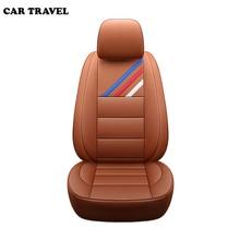 Housse de siège automobile en cuir véritable   Housse de siège de voiture personnalisée pour bmw e46 e36 e39 e90 x1 x5 x6 e53 f11 e60 f30 x3 e83
