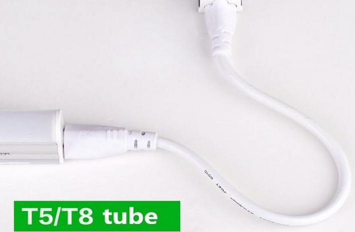 1ft 2ft 3ft 4ft 5ft كابل ل المتكاملة T8 T5 أنابيب ليد أضواء موصل led تمديد الحبل CE بنفايات UL