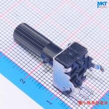 Tondeuse à potentiomètre rotatif linéaire   100 pièces de 100K(104 Ohm) Type B linéaire, arbre de 18mm, résistance Variable