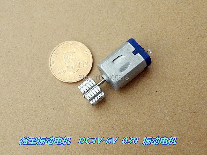 جديد 30 قطع DC3V-6V micor 030 اهتزاز المحرك ل عبة أو اهتزاز مقبض