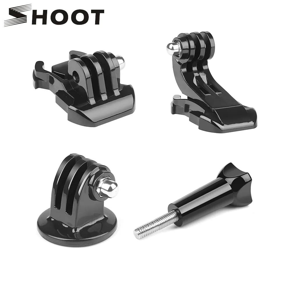 撮影で4 1基本アクションカメラアクセサリークイックリリースバックル三脚マウント移動プロヒーロー9 7 8 5プロsjcam李4 18k eken H9