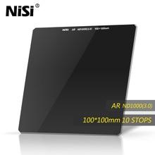 NiSi ND1000 100*100 filtre caméra carré ND filtre verre optique Double face Ultra revêtement pour objectif de moins de 82mm livraison gratuite