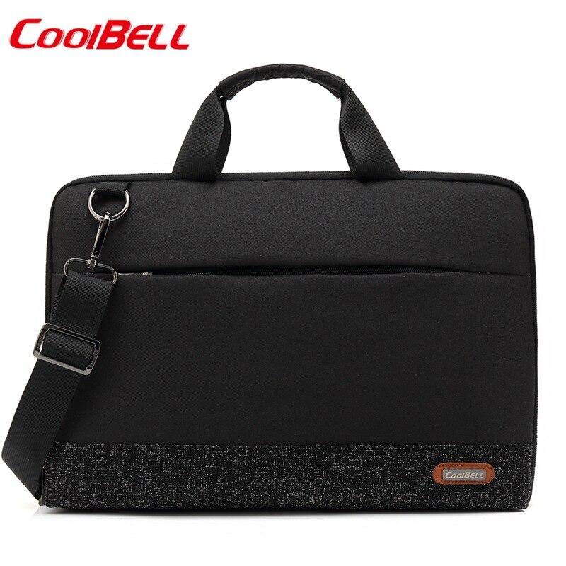 كول بيل موضة جديدة مقاوم للماء حقيبة كمبيوتر محمول حقيبة يد حقيبة 13.3