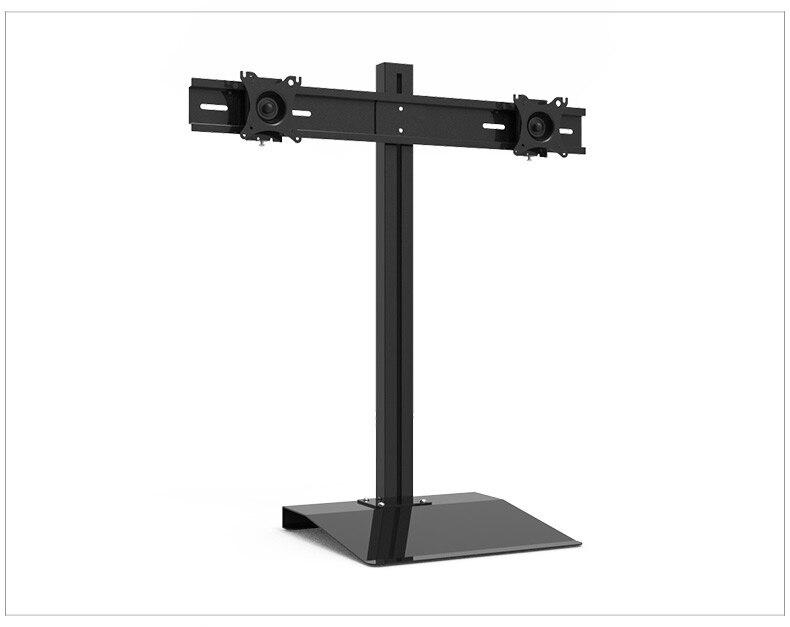 """Soporte para Monitor de pantalla Dual de 15 """"-27"""" con rotación completa, soporte para TV LCD, Base de escritorio S031A"""