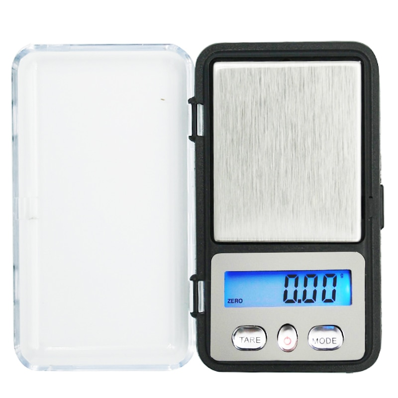 Nuevo 200g x 0,01g Mini joyería Digital electrónica balanza bolsillo Gram pantalla LCD 10% de descuento