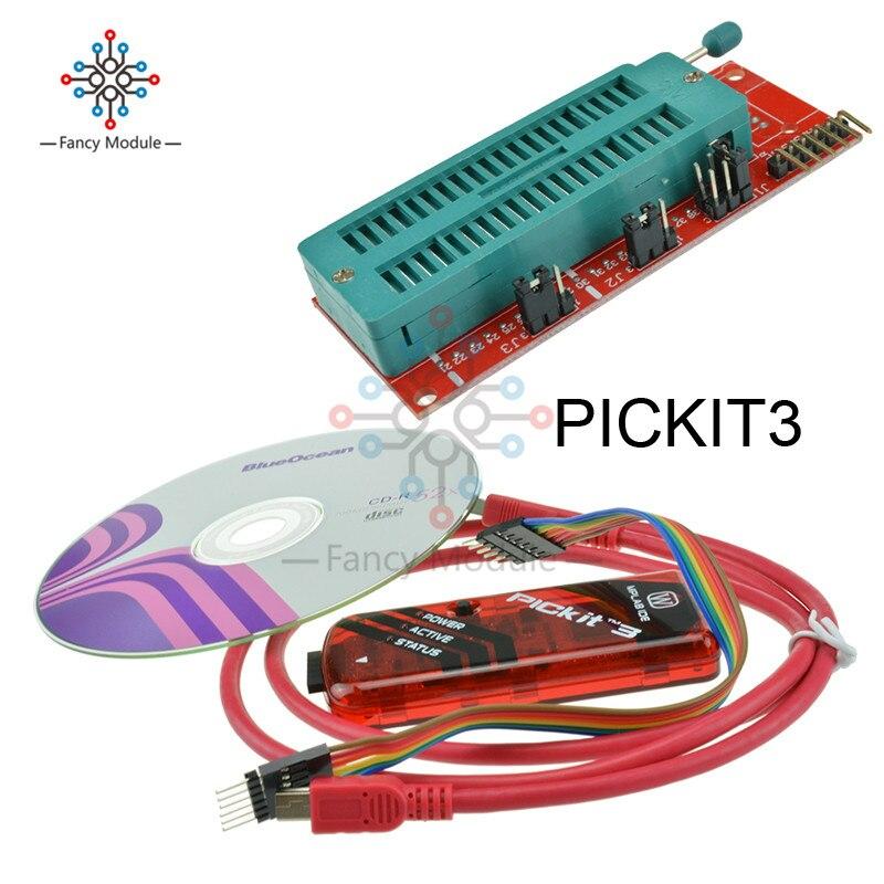 Программатор PICKIT3 PICKIT2 + PIC ICD2 PICKit 2 PICKIT 3, универсальный программатор Seat, 1 комплект