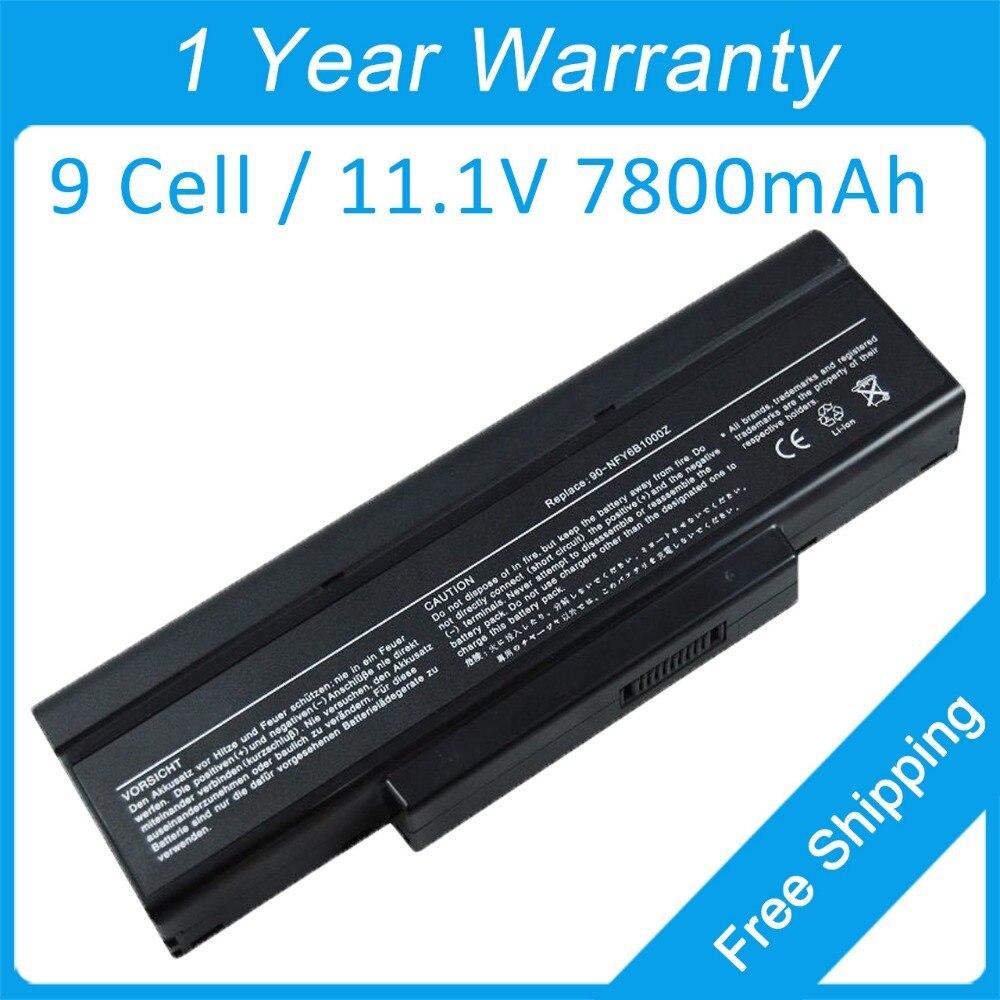 Nuevo 7800 mah batería del ordenador portátil BTY-M65 para MSI CR420 CX420 EX460 EX610 GE600X EX630X MS1652 MS-1432 MS-1722 90-NE51B2000 M740BAT-6