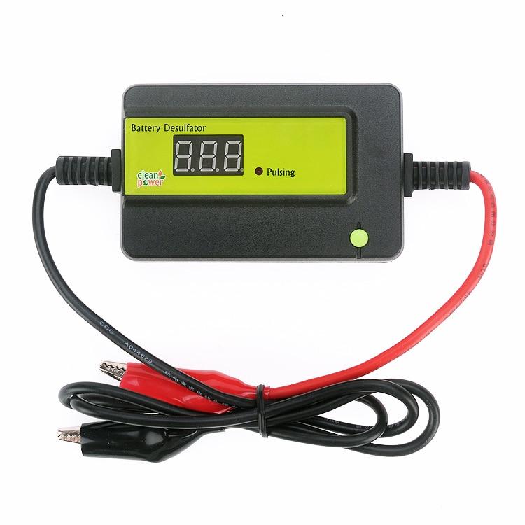 Pulsing Disply Lead Acid Auto Battery Desulfator Conditioner Regenerator 12 24 36 48 volt Combined