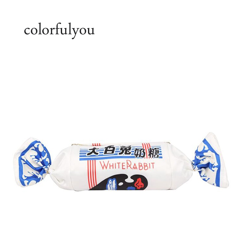 Bolso de mano con forma de caramelo para mujer nuevo satchel personalizado para niñas dulce cadena bandolera bolso de mano para mujer