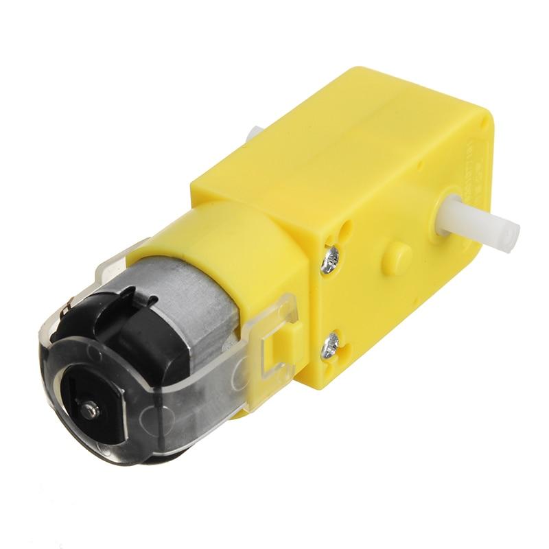 4PCS DC3V-6V DC 1:120 Gear Motor TT Gear Motor for Arduino Smart Car Robot DIY Parts