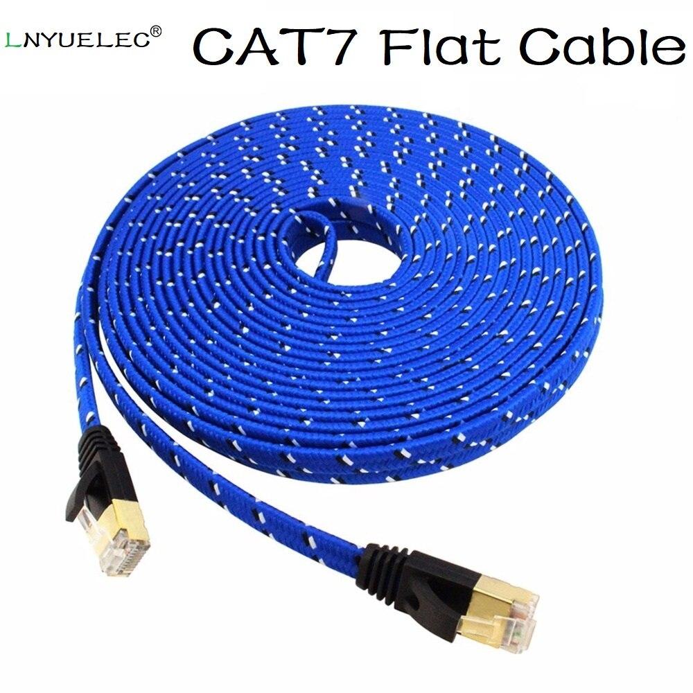 Cable Ethernet Cat7 RJ45 para ordenador, Cable de red LAN para XBOX,...