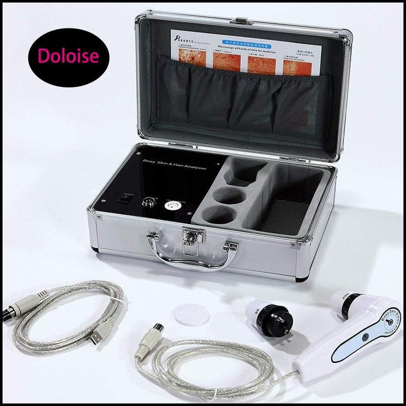 Detector de pelo eléctrico, analizador Digital para el cuidado de la piel, Monitor para la piel, humedad, aceite, prueba de piel, bolígrafo, probador antienvejecimiento del cuero cabelludo
