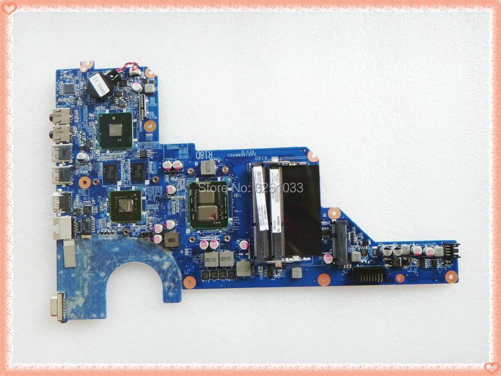 ل HP G4 G6 G7 اللوحة المحمول DDR3 655985-001 654117-001 DAR18DMB6D0 DAR18DMB6D1 R18D اللوحة مع وحدة المعالجة المركزية I3-370M