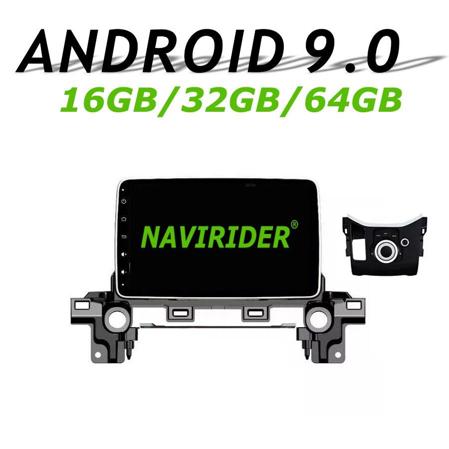 Navegador GPS Navirider para Mazda cx-5 CX5 2017 2018 2019 pantalla táctil coche android 9,0 64gb rom reproductor de radio Bluetooth Estéreo