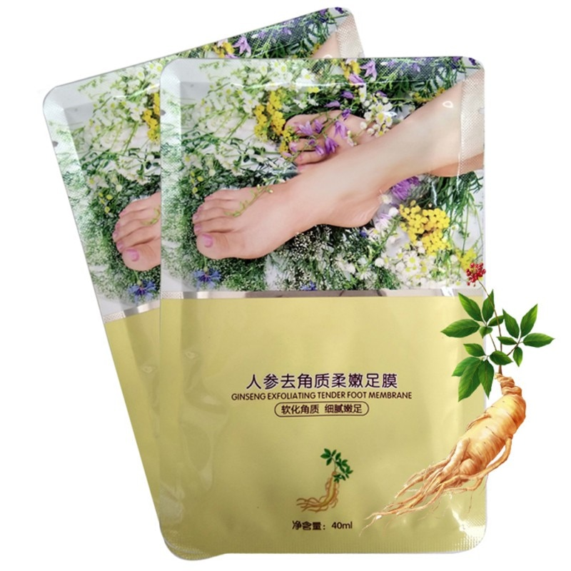 Foot Mask Remove Dead Skin Exfoliating Mask Foot Ginger Lavender Nourish Mask Foot Care Products