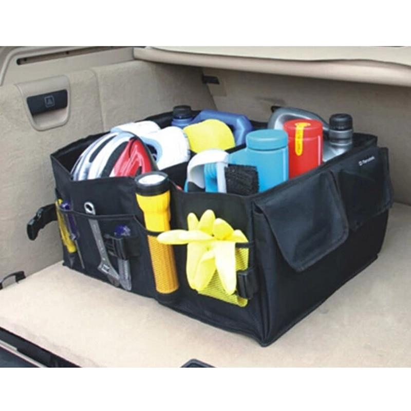 Sac de rangement pliable pour voiture   Coffre, boîte à outils pour véhicules, organisateur du sac dans le coffre de voitures pour style de voiture