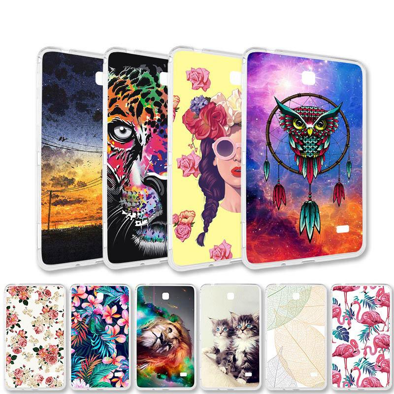 Gemalt Fall Für Samsung Galaxy Tab 4 3 S3 S2 Tab4 Tab3 TabA TabS3 TabS2 T310 T530 T230 T715 T815 t820 Tablet Fall Tab Coque Tasche