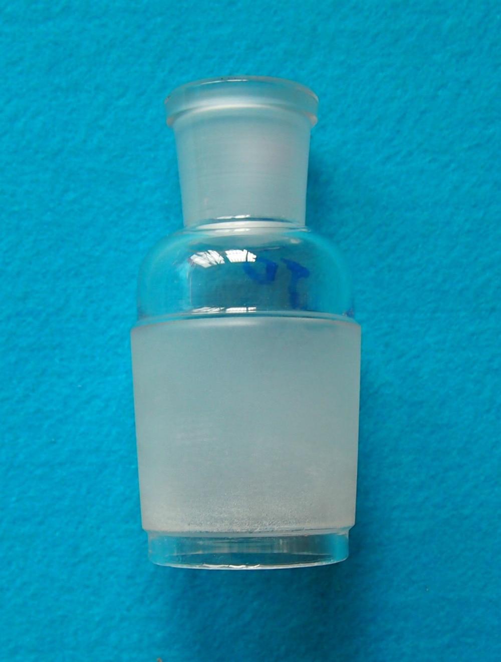 Adaptador reductor de vidrio de 50/42 a 24/29, trabajo químico