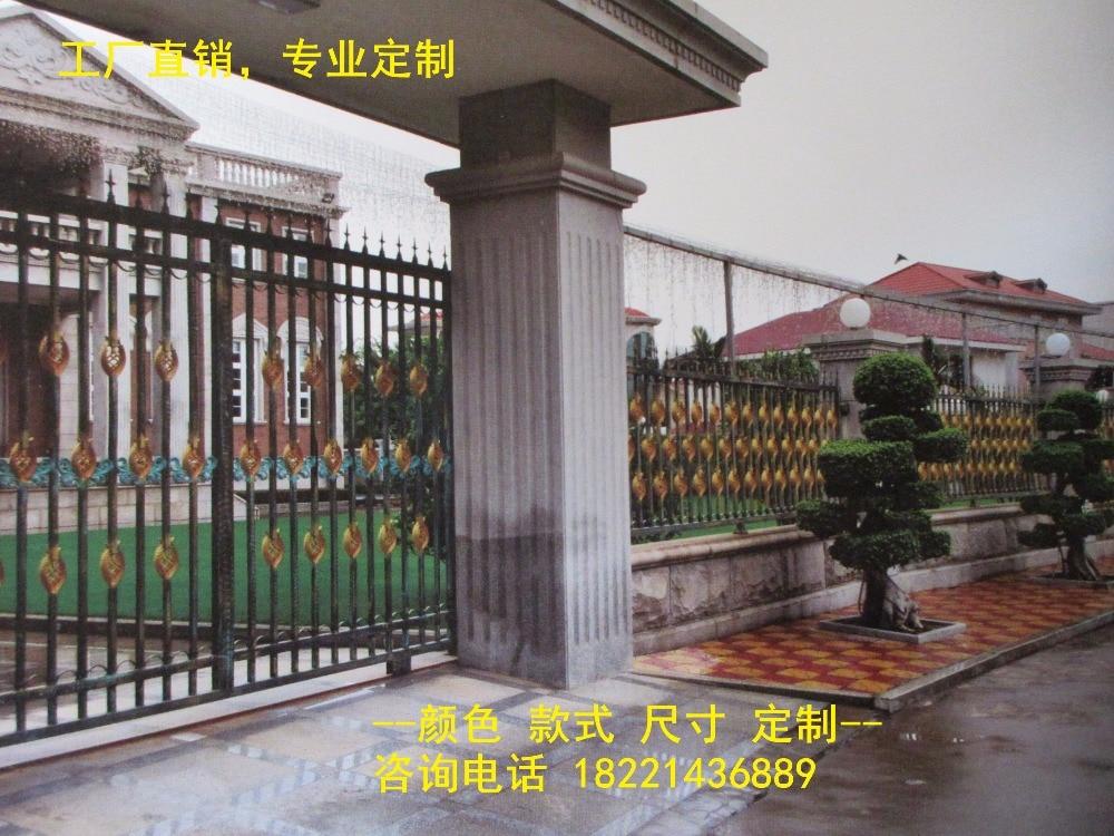 custom made wrought iron gates designs whole sale wrought iron gates metal gates steel gates hc-g59