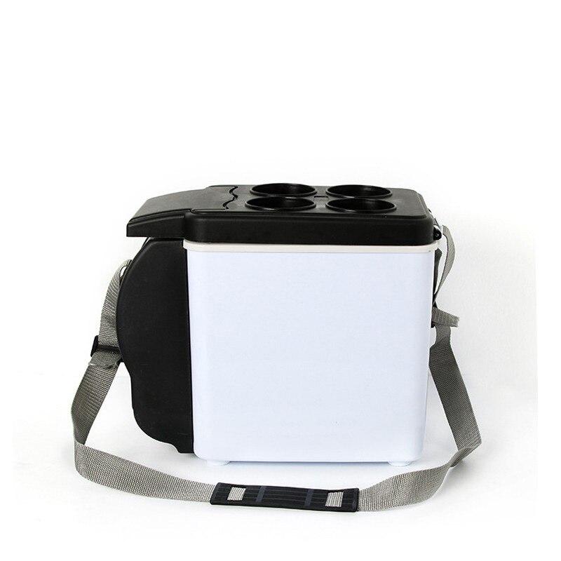 Mini refrigerador portátil de 6L para coche, frigorífico frío y caliente, Mini congelador para coche, Mini Nevera Frigo Nevera, caja de hielo Buzdolab Frigobar