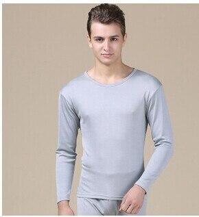 ملابس داخلية من الحرير الخالص للرجال ، ملابس داخلية حرارية طويلة ، ملابس داخلية شتوية جديدة