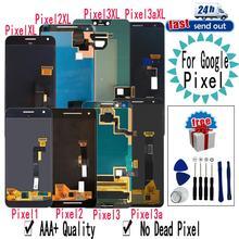 AMOLED pour Google Pixel 2 3 3A 4 XL LCD écran tactile numériseur assemblée remplacement pour Google Pixel XL 2XL 3XL 3axis 4XL
