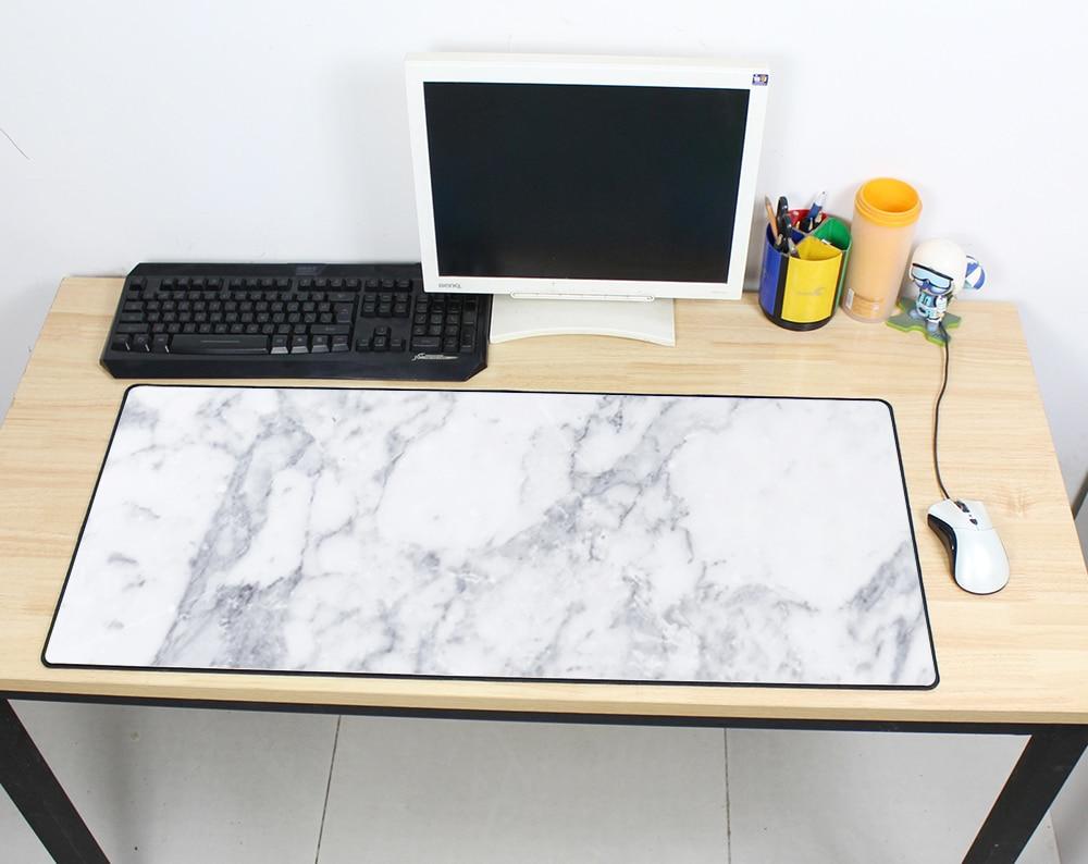 Color de mármol alfombrilla de ratón 900x400x3mm pad a mouse pad para ratón de Notebook genial anime nuevo juego padmouse jugador a Adorable alfombrillas de ratón