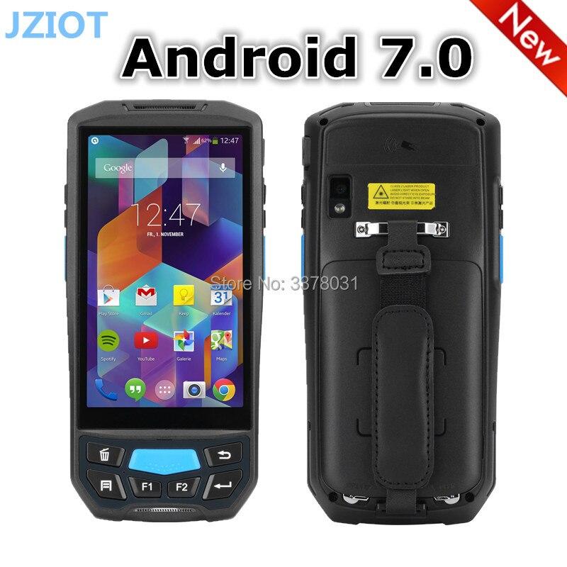 Móvil Android 7,0 de mano de-PDA 1D 2D Drahtlosen Datenterminal Mit 13,56 MHz RFID Industrie móvil