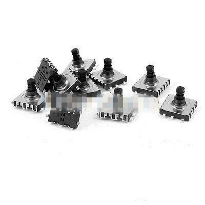 10pcs 10x10x9mm 6-Pin 5 Way Momentary Pushbutton PCB SMD SMT Tactile Switch