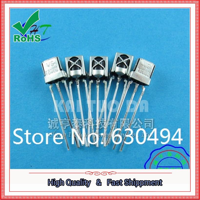 Envío gratis 20 piezas Universal infrarrojo ir receptor TL1838 VS1838B 1838 38Khz venta al por mayor