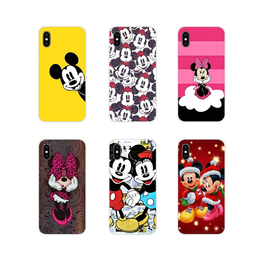 Minnie mouse accesorios de la cáscara del teléfono cubre para Oneplus 3T 5T 6T Nokia 2 3 5 6 8 9 230, 3310, 2,1, 3,1, 5,1, 7 2017, 2018
