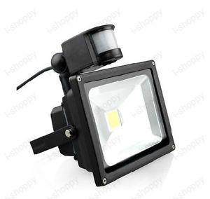 Detector de movimiento PIR Sensor de seguridad de la luz de inundación de 50 W lámpara balcón aparcamiento IP65