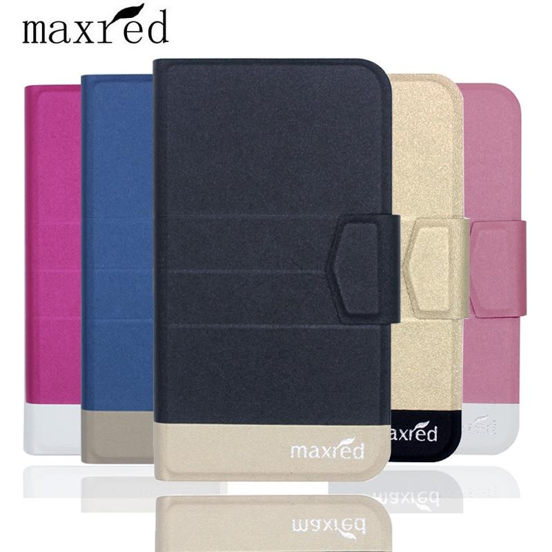 ¡Original! Funda protectora de cuero con tapa ultrafina de lujo de 5 colores Senseit A250