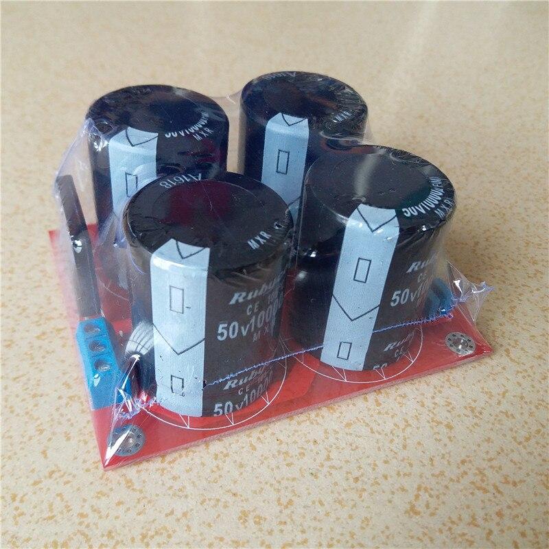 50V 10000uf capacitor LM3886 TDA7293 TDA7294 amplifier Power supply Filter plate Terminal DIY