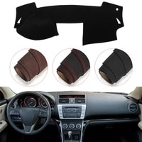 console dashboard suede mat protector sunshield cover fit for mazda 6 2009 2012