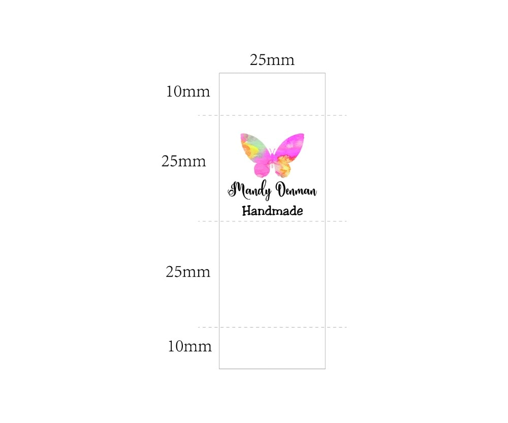 Custom Sewing label, Handmade Tags, Custom kids Name Labels,Cotton Ribbon labels, Logo Labels(MD0013)