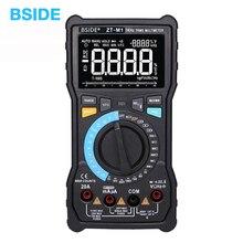 Multimètre numérique automatique/manuel BSIDE ZT-M1 Triple affichage EBTN 8000 comptes tension dessai de batterie testeur de sortie donde carrée VFC