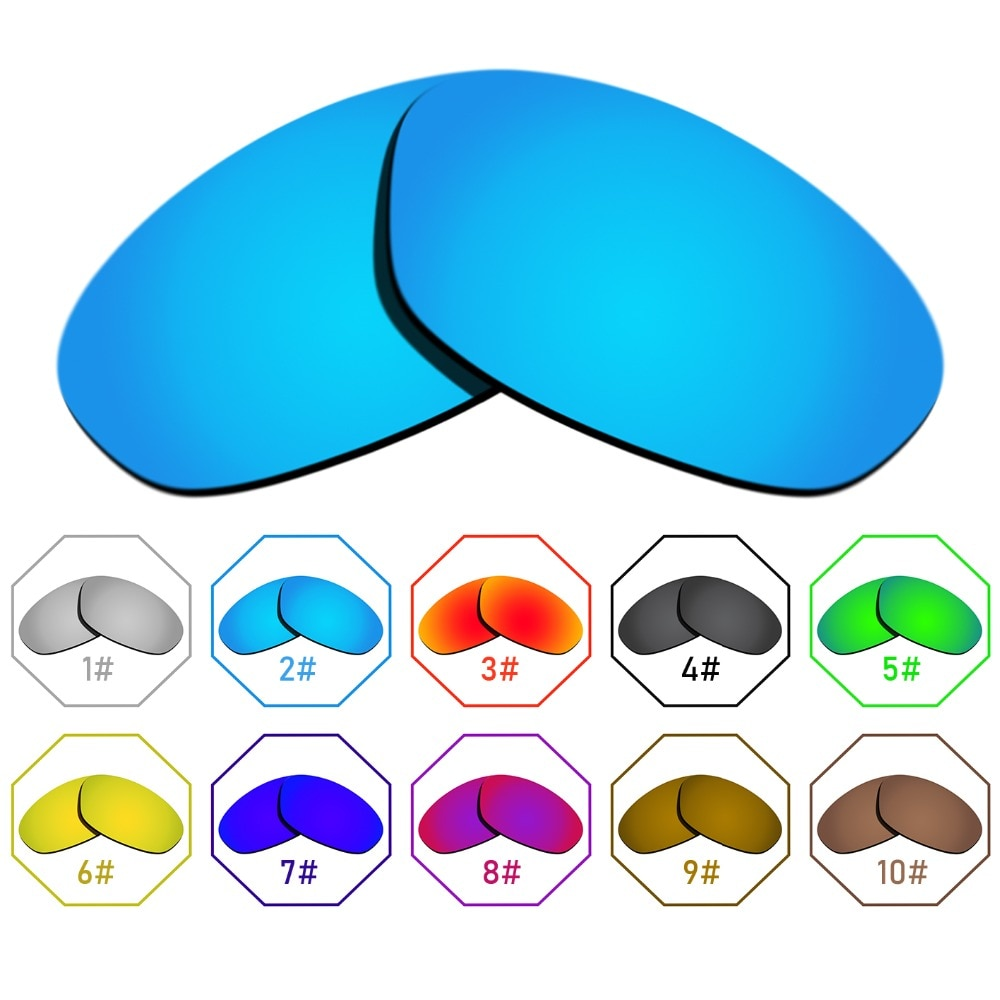 Polarized Replacement Lenses for Twenty XX 2012 Frame - Many Colors Anti-reflective Anti-water Anti-