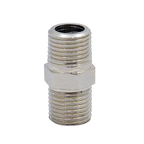 "2 pcs Airbrush Mangueira Adaptador Conexão 1/8 ""Macho para 1/8"" Conector Macho para Mini Compressor de Ar"